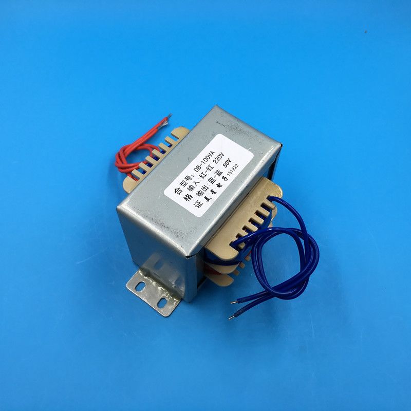 все цены на 50V 2A Transformer 100VA 220V input EI86 Transformer power supply transformer онлайн
