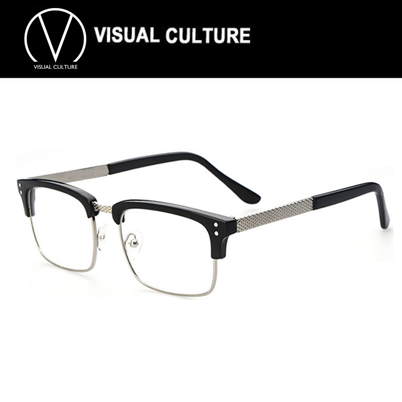 fashion square eyeglasses retro men women designer eyeglasses frame optical computer eye glasses frame oculos de grau c063 in eyewear frames from mens - Womens Designer Eyeglass Frames