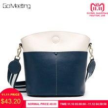 9da2055773c Go Meetting bolso de hombro de marca de lujo para mujer bolso de hombro de  moda