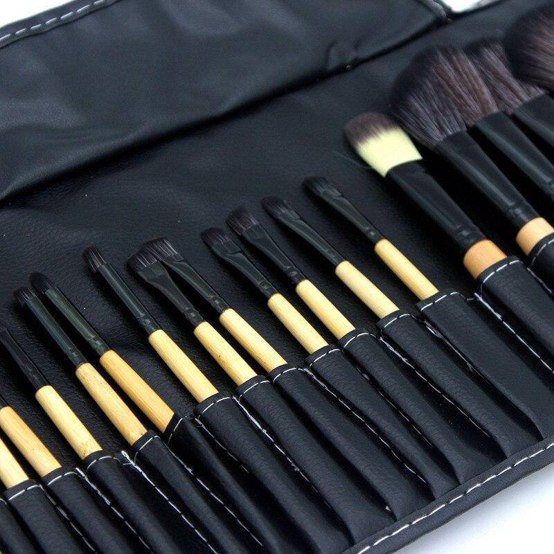 32pcs/set Professional Eye brushes set eyeshadow Foundation Mascara Blending Pencil brush Makeup tool Cosmetic Black Popular