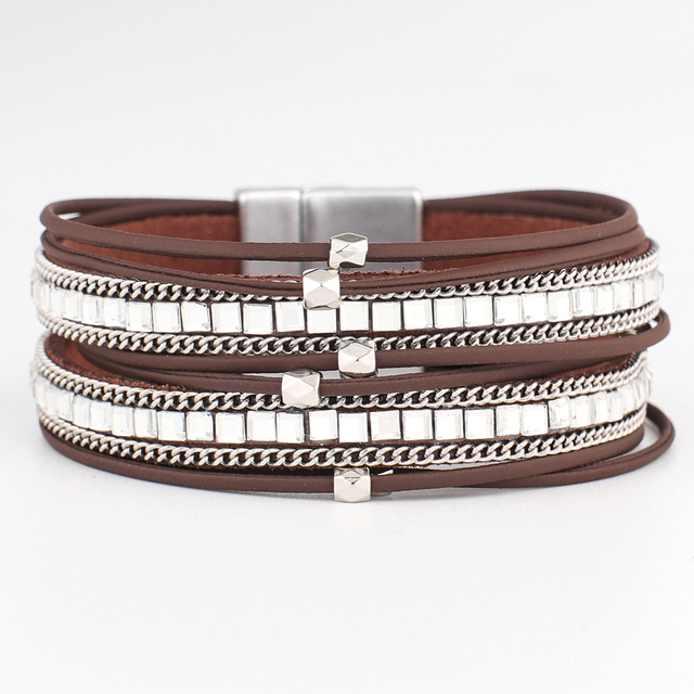 Long Leather Bracelet...