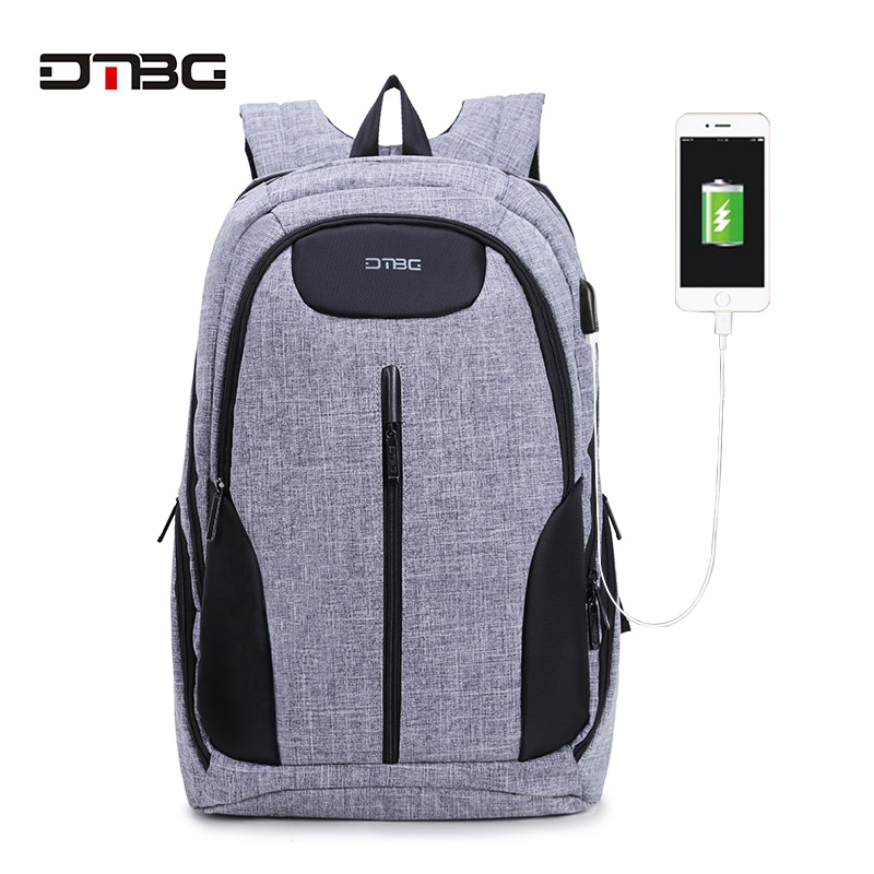 DTBG Brand Patchwork Backpack 17.3 Inch Laptop Backpacks 3 Layers Large Capacity Smart Bags Canvas Teens School Rucksack Mochila dtbg smart usb laptop backpack large capacity school bags for teens anti theft large capacity travel mochila sac rugzak plecak