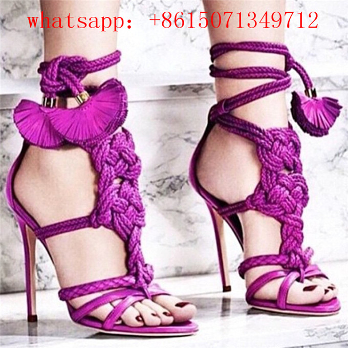 Purple Gladiator Sandals Promotion-Shop for Promotional Purple