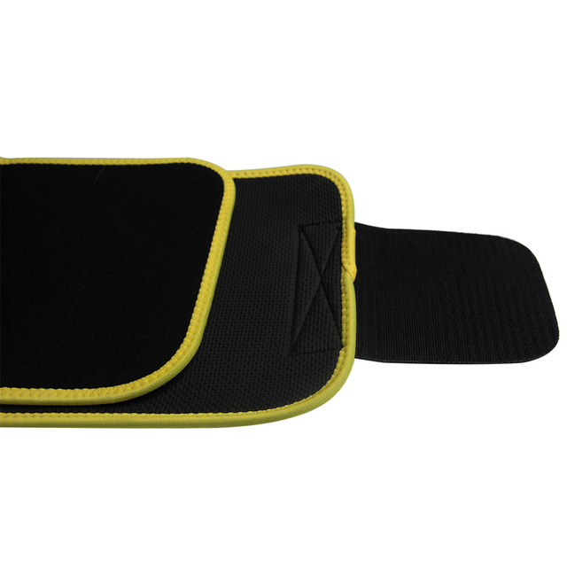 New Grade Adjustable Waist Trimmer Sweat Belt Shaper Slimming Wraps Perfect for Exercise Belly Weight Loss 5mm Thickness 4