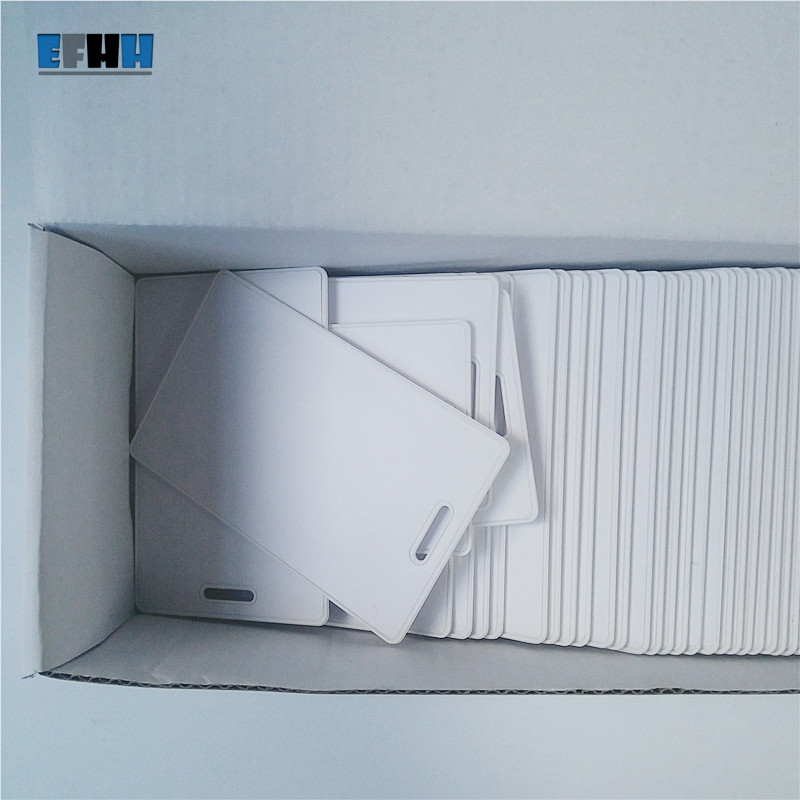 125Khz T5577/T5567/T5557 Rewritable RFID Thick Card Clamshell Card Copy Clone Blank Card In Access Control Card
