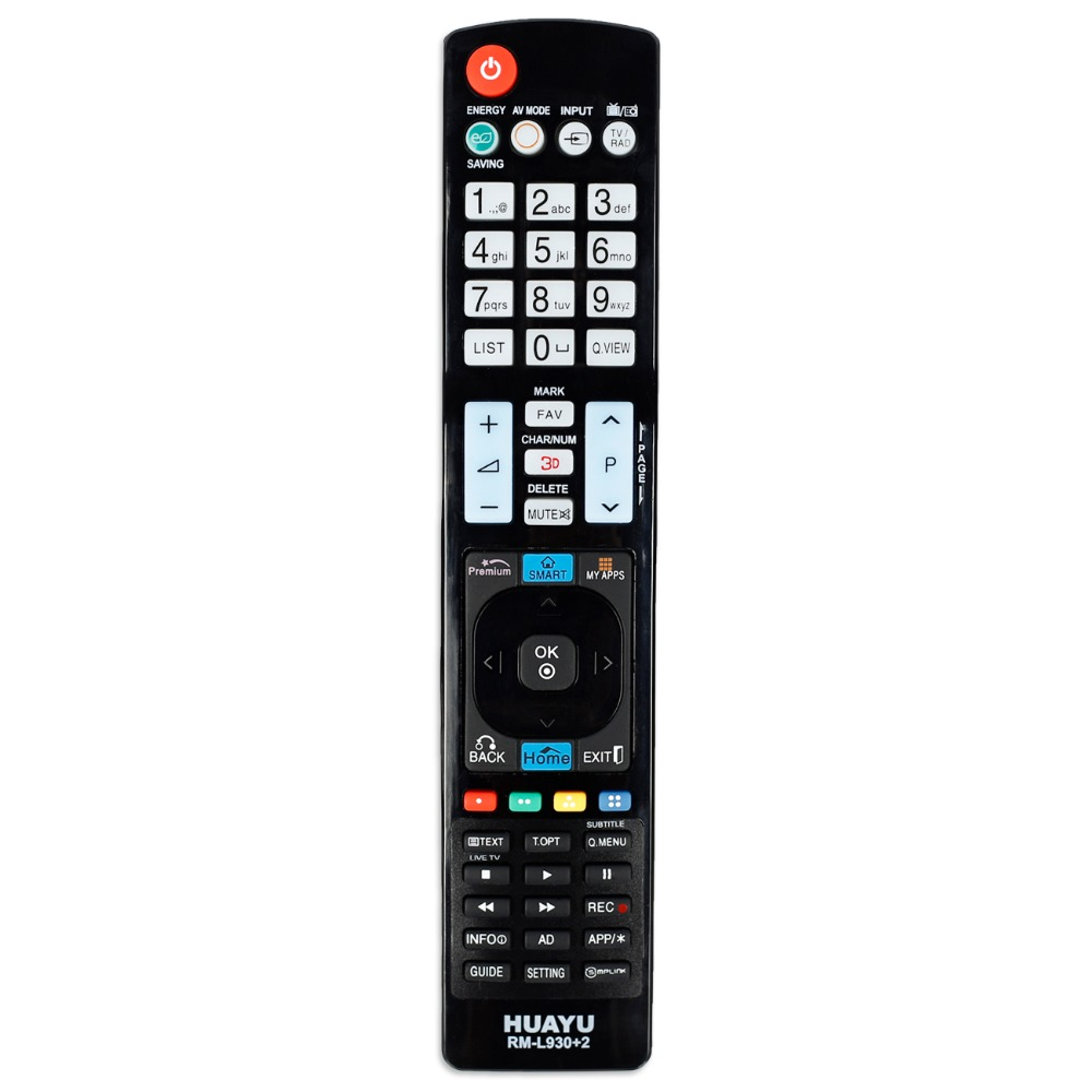 New remote control for <font><b>lg</b></font> LED <font><b>3D</b></font> smart <font><b>TV</b></font> controller AKB72915188 Universal AKB73755450 AKB73756559 huayu image