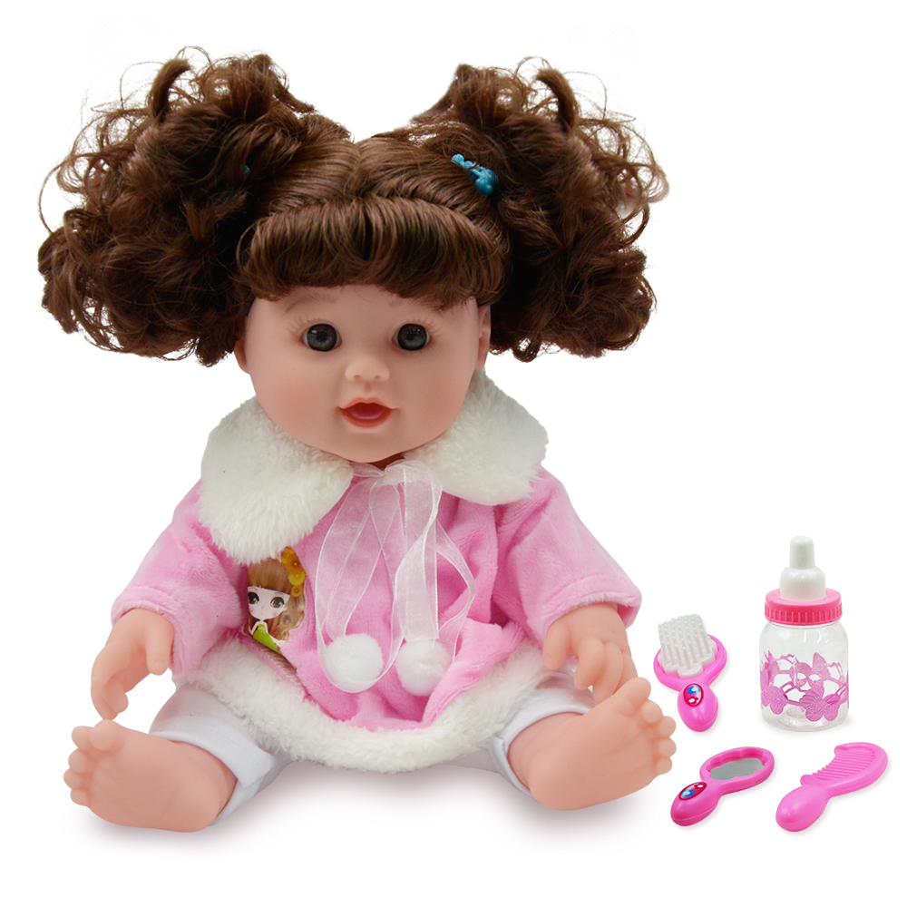 YARD Hair Realistic Reborn Baby Dolls Soft Lifelike Doll Girl Reborn Baby Dolls Baby Born new lifelike soft cloth full body painting silicone born baby dolls girl realistic solid original reborn dolls for sale shop