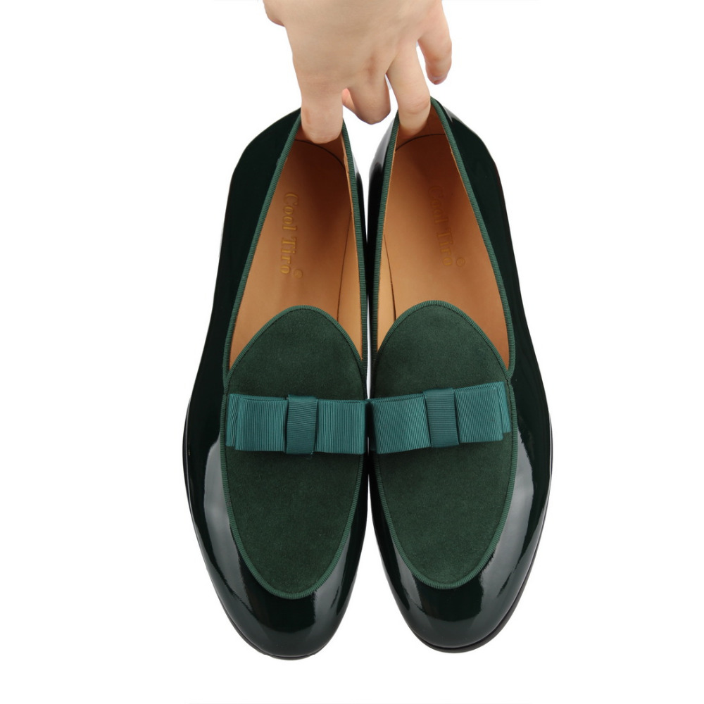 Genuine Leather   loafers Bow (8)
