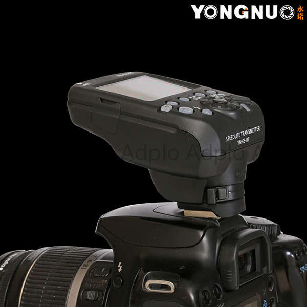 Yongnuo YN-E3-RT Flash Speedlite Transmitter Suit for Canon 600EX-RT as ST-E3-RT yongnuo 3x yn 600ex rt ii 2 4g wireless hss 1 8000s master flash speedlite yn e3 rt flash trigger for canon eos camera 5d 6d