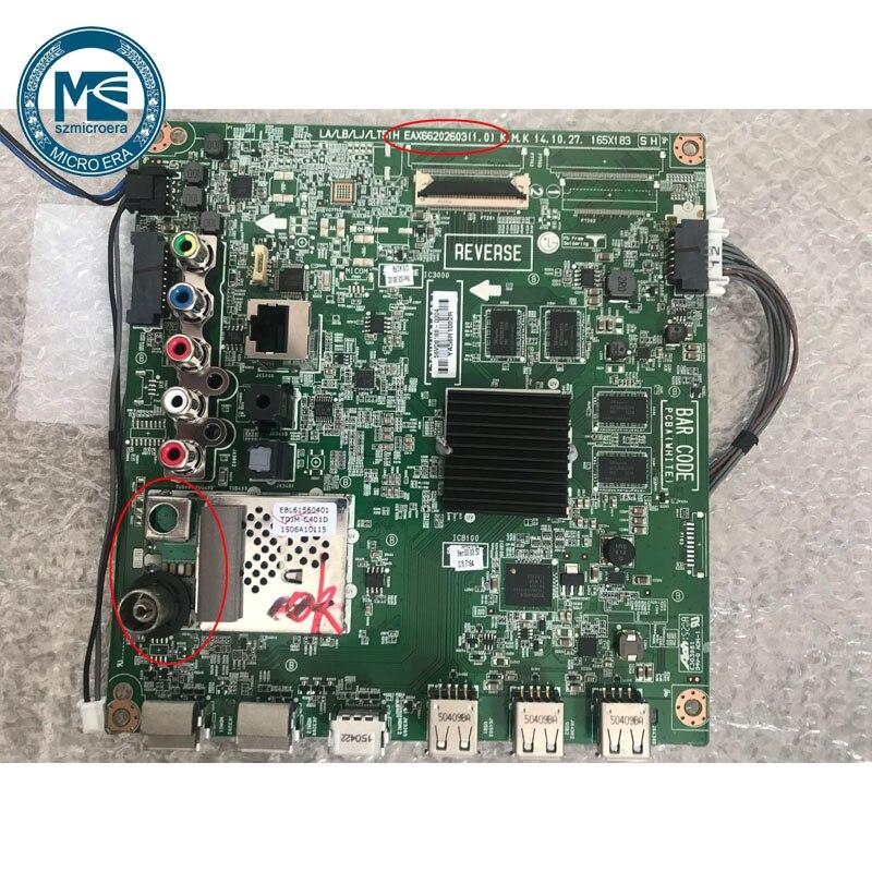 Совершенно новый для LG 55LF6310 CB ТВ материнская плата EAX66202603 EAX66202604 (1,0)|Запасные части|   - AliExpress