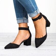 Women Sandals 2019 Fashion Low Heels Sandals For Summer Shoes Woman Casual Block Heel Shoes Zapatos Mujer  Sandale Femme P25 недорго, оригинальная цена