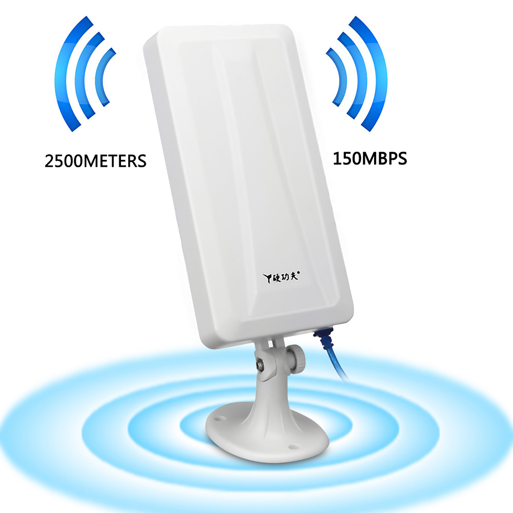WiFi Long Range Extender Wireless Router Booster Repeater Antenna WLAN Outdoor