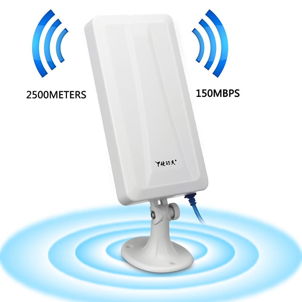 2500M WiFi Long Range Extender Wireless Outdoor Router Repeater Antenna Booster WLAN Antenna GDeals