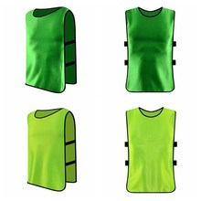 2f72b9a676de Adult Children Kid Team Sports Football Soccer Training Pinnies Jerseys  Quick-dry Breathable Training Bib Vest Clothes