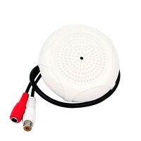 Ad alta Definizione Digitale Pickup Audio CCTV Microfono Per AHD TVI IP Telecamera di Sicurezza DVR Sistema Video