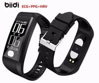 K9 Health ECG+PPG+HRV Heart Rate Monitor Smart Band Blood Pressure Watch Sleep Fitness Tracker Smart Bracelet with OLED display