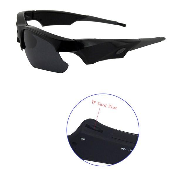 Hot HD 720P Sunglasses Glasses Camera  (9)