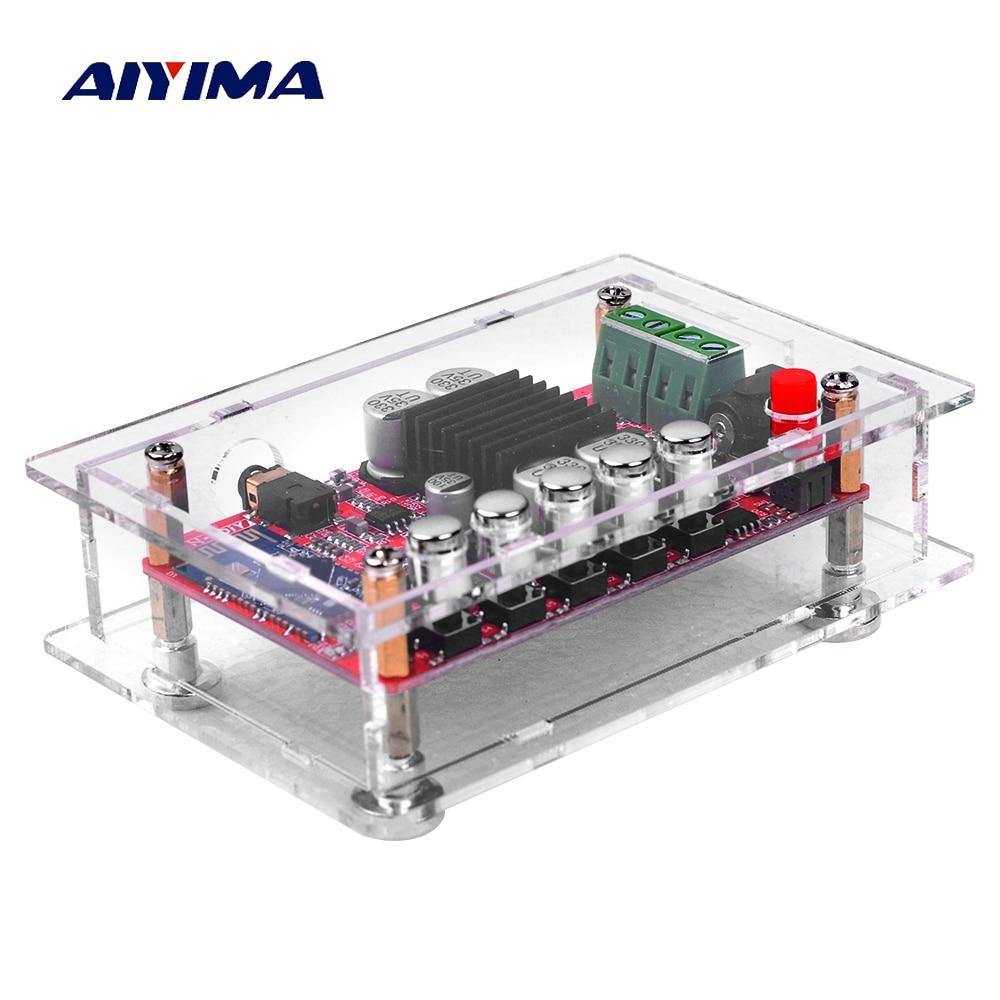 AIYIMA TDA7492 Bluetooth Amplifier Board 2x50W Dual Channel CSR8635  Bluetooth 4 0 Audio Receiver Digital Amplifiers Hifi Amp AUX