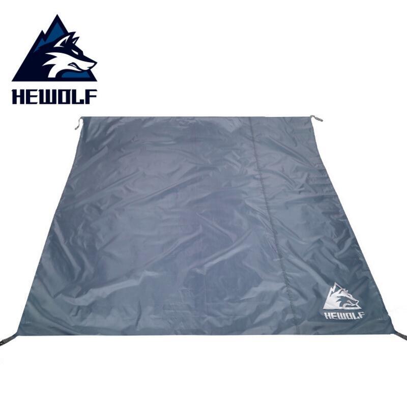 Hewolf Outdoor Moistureproof Pad Oxford Cloth Waterproof Picnic Beach Mat Portable Camping Tent Mat Tarp 195*195cm/200*145cm