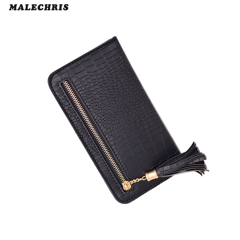 Women  Wallet Girl High Quality Pu Leather Red Mobile Phone Bag Long Paragraph Ladies Hand Bag