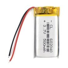 3,7 V 500mAH 602040 полимерный литий-ионный/литий-ионный аккумулятор с печатной платой для dvd gps mp3 mp4 PSP, PDA Smart Watch