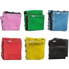 купить Custom Colored Bungee Trampoline Mat With Triangle Rings дешево