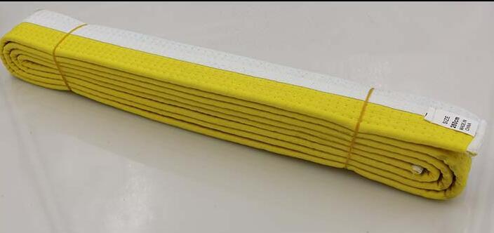 Бесплатная доставка Стандартный таэквондо дорога с divisa уровень пояс тхэквондо пояс ТКД ремень боевых искусств каратэ Ремни дзюдо 2.6 м