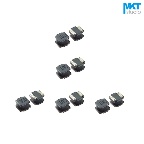 US $7 8  100Pcs SMD 4*4*3 0mm Winding Wire Wound Power Coilcraft Inductor  Inductance=1/2 2/3 3/4 7/6 8/10/15/22/33/47/68/100uH-in Inductors from Home