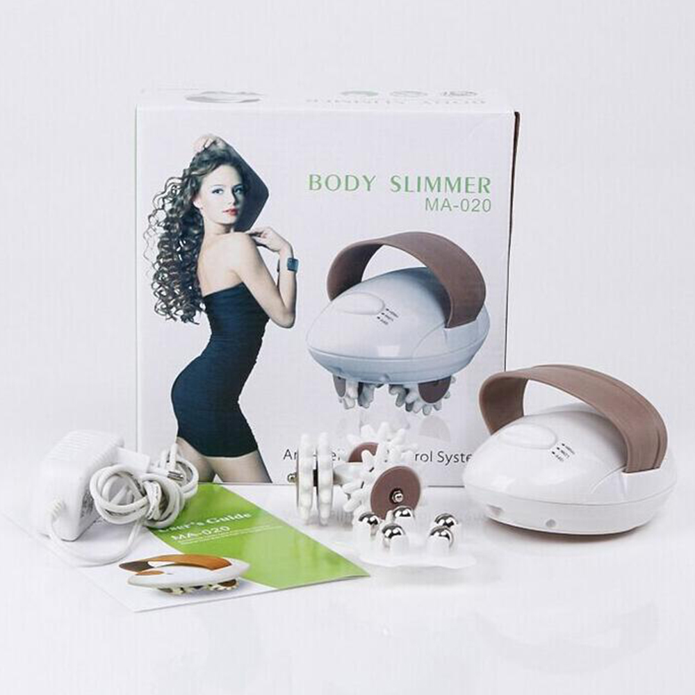Body Massager Weight Loss Fat Burning 3D Electric Full Body Slimming Massager Roller Cellulite Massaging Smarter Device D037