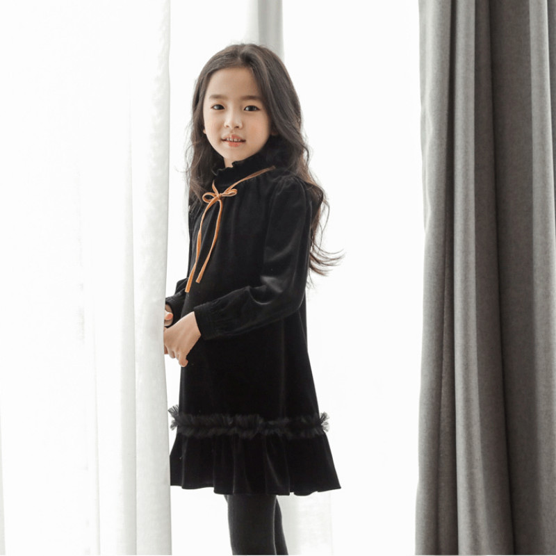 2019 New Child Woman Spring Gown Children New Arrival Gown Kids Prime Silver Fox Toddler Lace Ruffles Gown Comfortable Snug,#3275