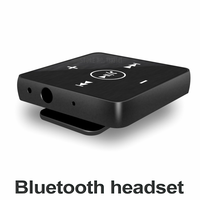 NEWNO Mini clip Bluetooth Headset wireless Earphone Headphone Bluetooth audio Receiver with microphone stereo earpiece earbuds zomoea business wireless bluetooth headset stereo headphones earphone earpiece handsfree earbuds headphone for smartphone