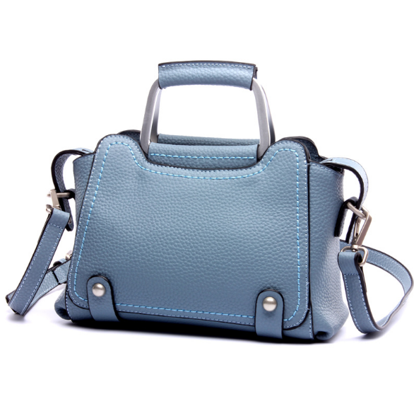 New Casual Fashion Genuine Leather Female Shoulder Bag Portable Simple Modern Exquisite Lady Messenger Bag Elegant Handbag C483 new vintage genuine leather lady shoulder bag fashion portable elegant women handbag hot classic exquisite messenger bag c481