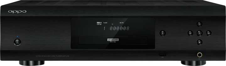OPPO UDP-205 4K UHD Blu-ray 3D DVD DVD-Audio SACD and CD Audiophile Blu-ray Disc Player China Version 110V/220V rush rush signals blu ray audio