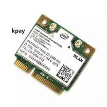 Intel Wireless   N 6205 62205 ANHMW 300 Mbps Mini PCI E 2.4G + 5G WIFI การ์ดเครือข่ายไร้สาย HP EliteBook 8470 p 8770 W SPS 695915 001