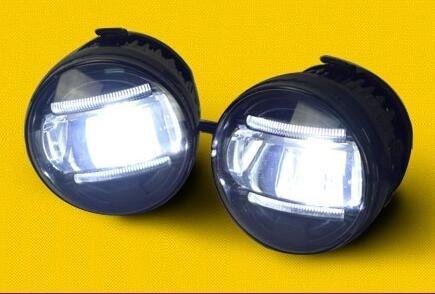 eOsuns светодиодные противотуманные фары стайлинга автомобилей светодиодные Противотуманные фары для Форд рейнджер DRL светодиодные фары дневного света Противотуманные фары парковка сигнала аксессуары