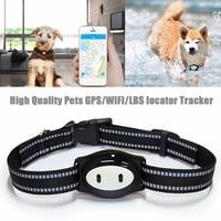 GPS/WIFI/LBS Pets Locator Tracker Finder Mini Tracking Device IP68 Waterproof Feeding Reminder GPS Location Finder