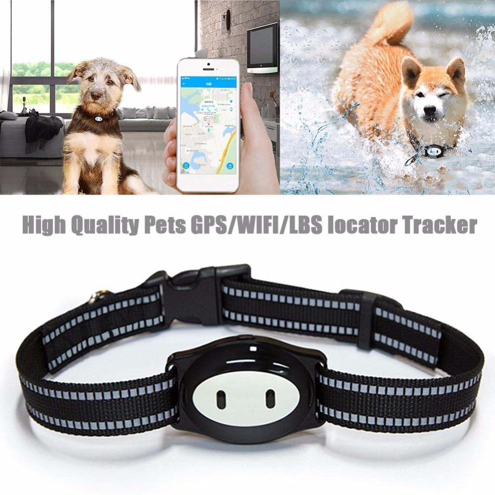 GPS/WIFI/LBS animaux localisateur traqueur localisateur Mini dispositif de suivi IP68 étanche alimentation rappel GPS localisateur