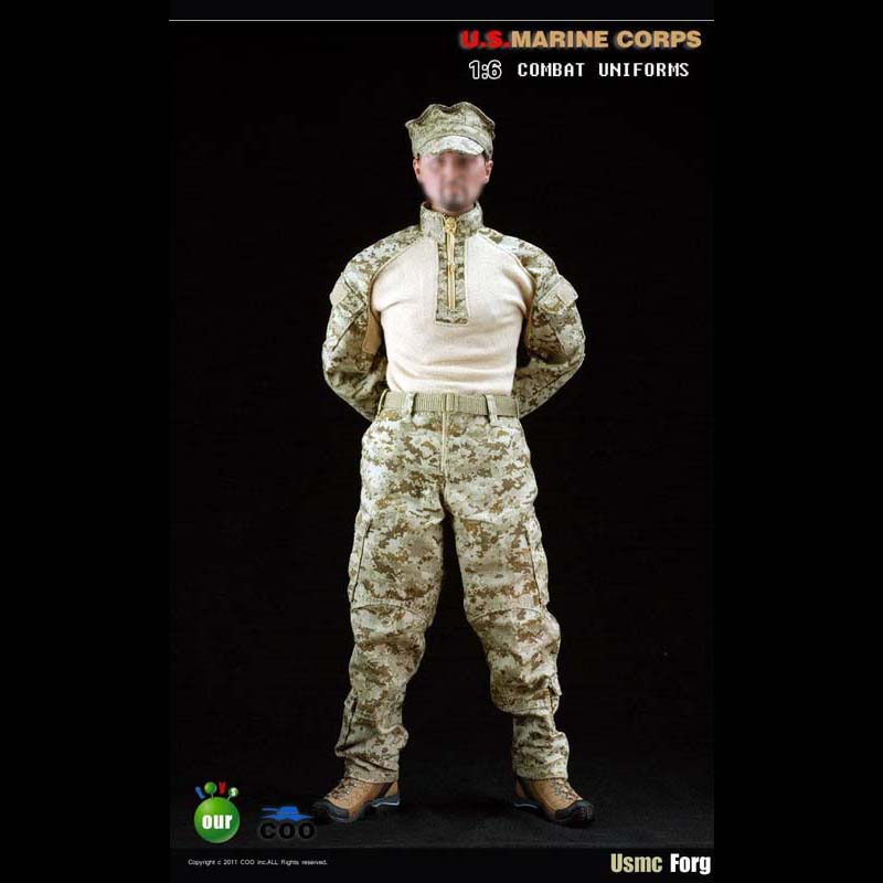 COOMODEL 1/6 USMC Frog Combat Uniforms Suit -OUR50001 Same as SS USMC1.0 12 Soldiers Model Clothing Toys Model ботинки usmc американской морской пехоты