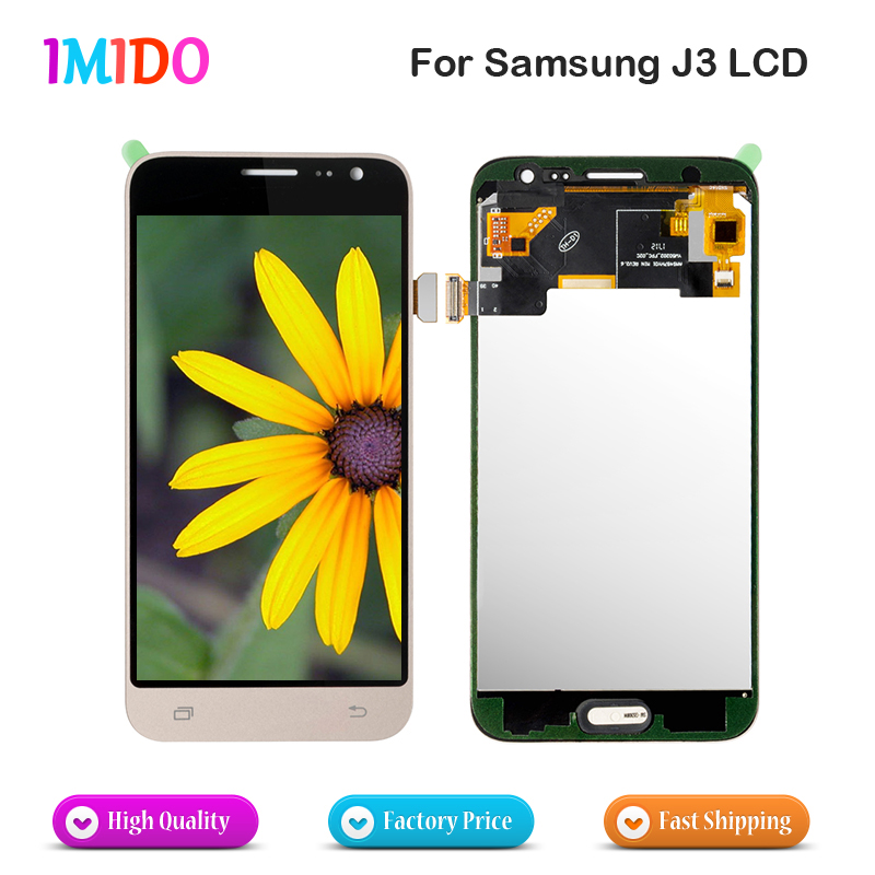 50Pcs Lot LCD Digitzer for Samsung Galaxy J3 2016 J320 OEM Display Touch Panel Les Assembly