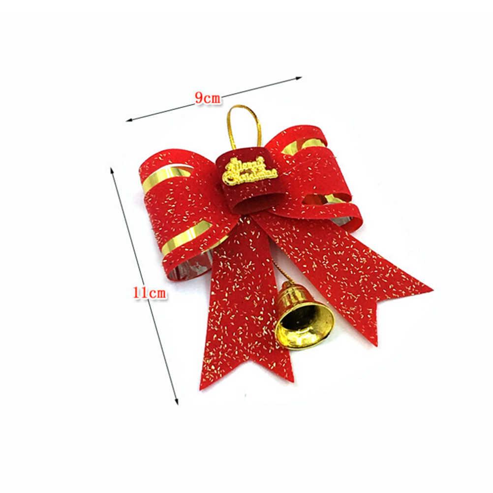 المنزل Bowknot الحلي عيد الميلاد الكبير ربطة القوس فيونكة السنة الجديدة الديكور زينة عيد الميلاد Bowknot شجرة عيد الميلاد زخرفة