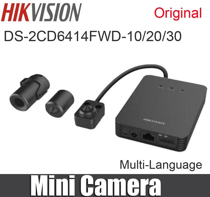 bilder für DS-2CD6412FWD DS-2CD6412FWD-10/20/30 1.3MP Megapixel WDR Verdeckte Rohr Pinhole Netzwerk Mini-ip-kamera ersetzt durch DS-2CD6414FWD