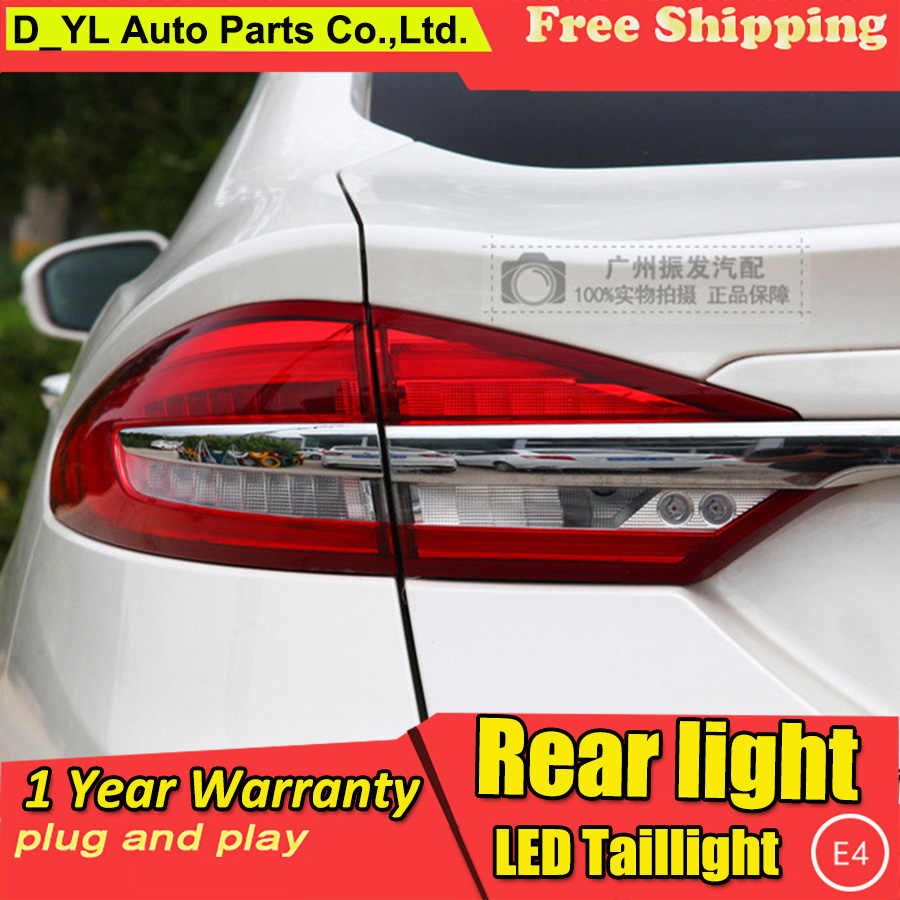 Car Styling Tail Light Case 2017 2019 For Ford Mondeo Fusion
