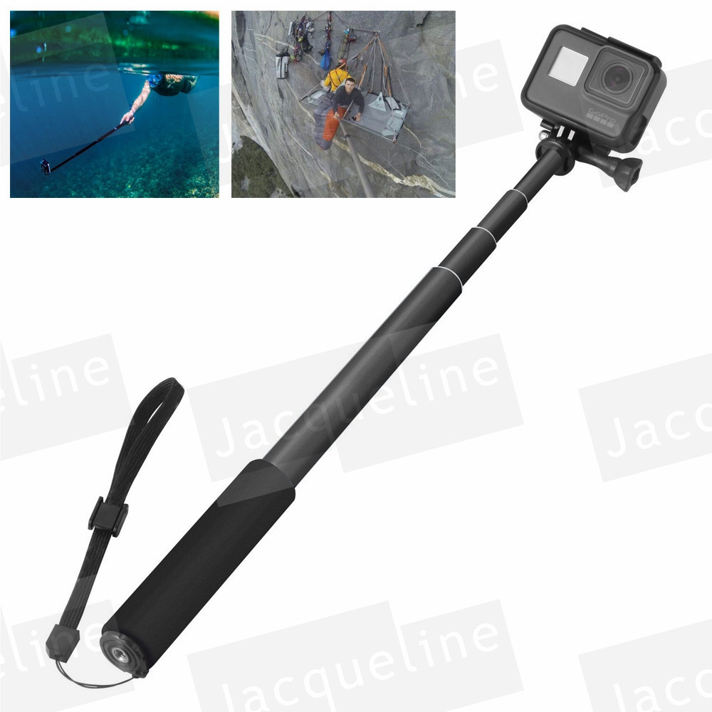 Selfie Stick Adjustable Telescoping Monopod Pole for Gopro Hero 8 7Hero 6// 5//3++