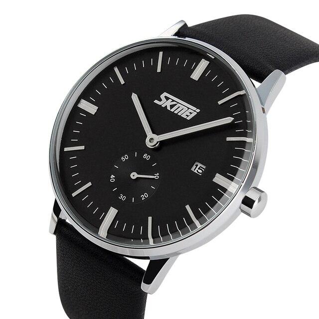b8797163cab8 Azul del reloj SKMEI 9083 la marca de lujo relojes de hombre de moda casual  de