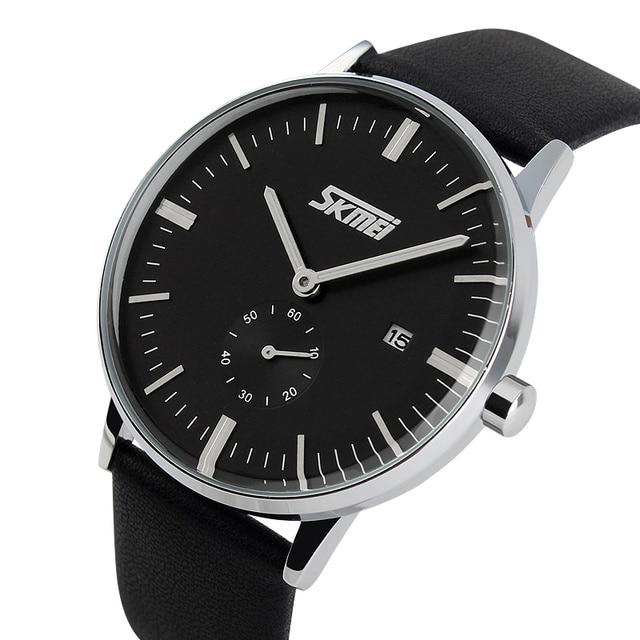 1f7a7d3cc8e SKMEI 9083 Relógios de Luxo Da Marca Clássico relógio de quartzo relógio  Masculino moda ocasional genuínos