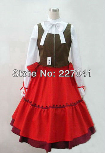 Axis Powers Hetalia hungary dress cosplay costume