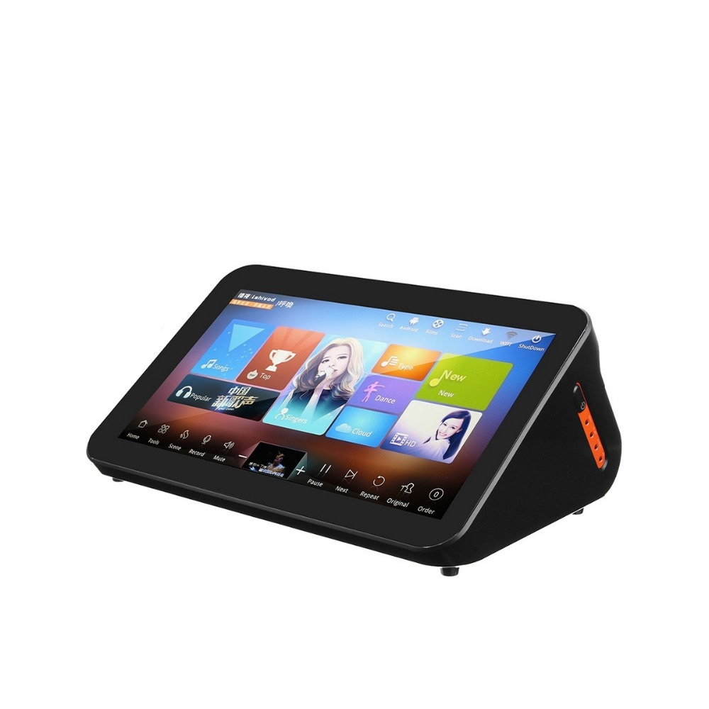 GymSong Ktv Player Machine Speaker China Android with 2TB Hard Drive include 40k Songs Home Jukebox Touch Screen Karaoke System цена