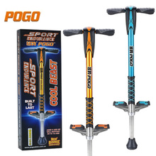 Jumping stilts Flybar Foam Master Pogo Medium Stick Teenager or Adult sport stick, gold color and blue color for available
