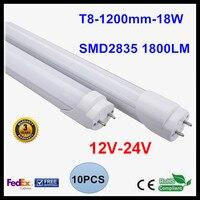 12V 24V T8 LED Tube 1 2M 4FT LED Tube Light 18W LED Lamp LED Light