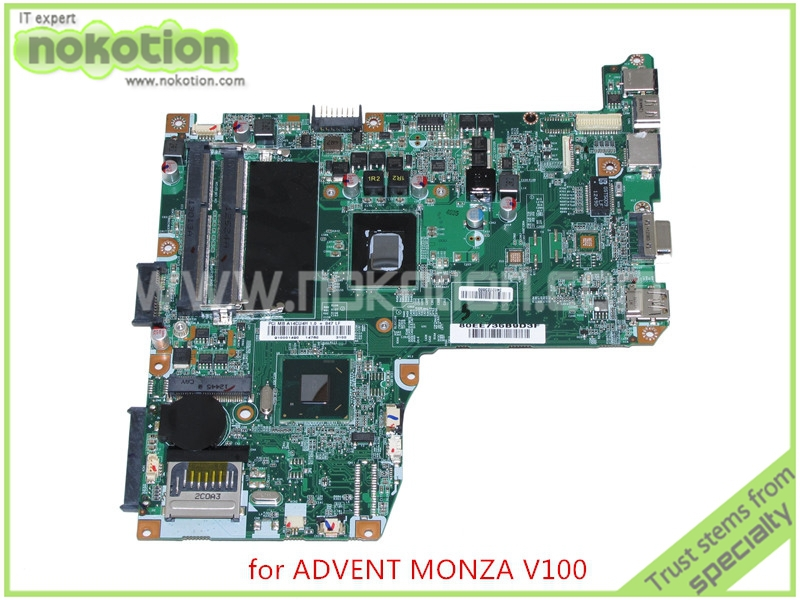 ФОТО 71R-C14CU6-T810  Mainboard For ADVENT MONZA T100 T200 V100 V200 Laptop motherboard SR08N Processor 847 DDR3